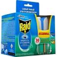 Электрофумигатор от комаров Raid Эвкалипт 30 ночей