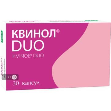 Квинол Duo капсулы №30