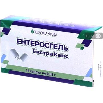 Энтеросгель Экстракапс капс. 0,32 г №14 инструкция и цены