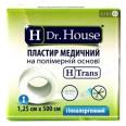 Пластырь медицинский Dr. House на полимерной основе 1.25 см х 500 см 1 шт