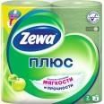 Туалетная бумага Zewa Plus Яблоко №4