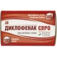 Диклофенак Євро табл. п/о кишечно-раств. 50 мг блистер №100