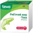 Рыбий жир-Тева капсулы, 500 мг №90