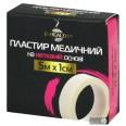 Пластырь медицинский B-Heаlth на нетканой основе, катушка 5 м х 1 см 1 шт