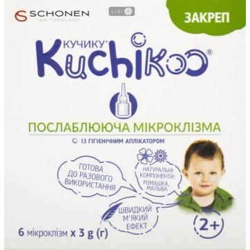 Кучику Запор слабительная микроклизма 3 г, №6  инструкция и цены