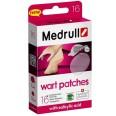 Пластырь медицинский Medrull Wart Patches от бородавок 16 шт