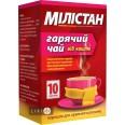 Мілістан гарячий чай від кашлю пор. д/оральн. р-ну пакетик 6 г №10