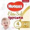 Трусики-подгузники Huggies Elite Soft Pants 4 (L) 9-14 кг 42 шт