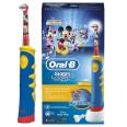 Электрическая зубная щетка ORAL-B BRAUN Kids Power Toothbrush/D10 Mickey Mouse