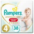 Подгузники-трусики Pampers Premium Care Pants Maxi 9-15 кг 38 шт