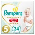 Подгузники-трусики Pampers Premium Care Pants 5 12-17 кг 34 шт