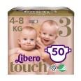 Подгузники Libero Touch р3 4-8 кг 50 шт
