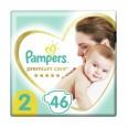 Подгузники Pampers Premium Care размер 2 4-8 кг 46 шт
