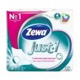 Туалетная бумага Zewa Just 1 4 слоя 4 шт