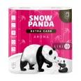 Туалетная бумага Снежная Панда Extra Care Aroma 4-слойная 4 шт