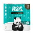 Туалетная Бумага Снежная панда Extra Care Sensitive 3 слоя 4 шт