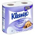 Туалетная бумага Kleenex Premium Care 140 відривів 4 шари, 4 шт