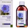 Диетическая добавка Аптека Природы Масло из семян льна 200 мл флакон