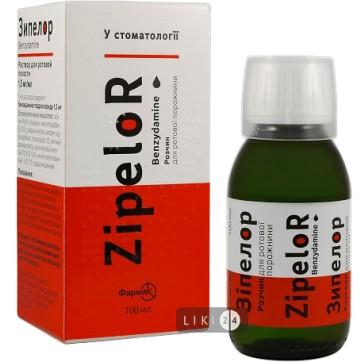 Зіпелор р-н д/ротов. порожн. 1,5 мг/мл фл. 100 мл інструкція та ціни