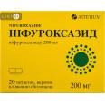 Ніфуроксазид табл. в/плівк. обол. 200 мг блістер у пачці №20