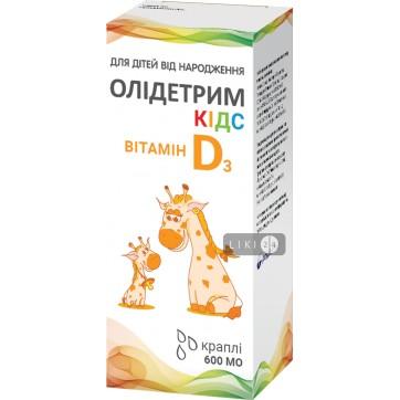 Олідетрим кідс крап. орал. фл. 10 мл інструкція та ціни