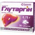 Глутаргин табл. 0,75 г блистер №30
