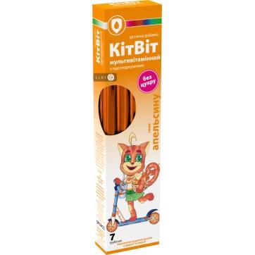 КитВит мультивитаминный 5,2 г, со вкусом апельсина №7 инструкция и цены