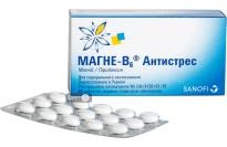 Магне-B6 антистрес табл. в/о блістер №60