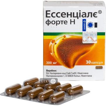 Ессенціалє Форте Н капсули 300 мг №30 інструкція та ціни