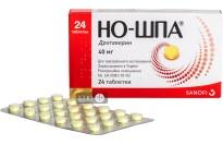 Но-шпа табл. 40 мг блистер №24