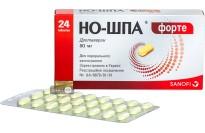 Но-шпа Форте табл. 80 мг блистер №24