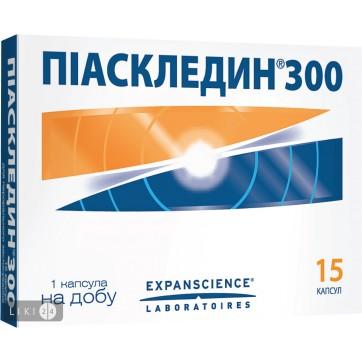 Піаскледин 300 капсули, №15 інструкція та ціни
