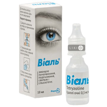 Виаль кап. глаз. 0,5 мг/мл фл. 10 мл инструкция и цены