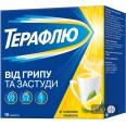 Терафлю от гриппа и простуды со вкусом лимона пор. д/оральн. р-ра пакет №10