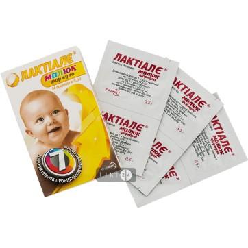 Лактиале малыш формула пакет 0,5 г №14 инструкция и цены