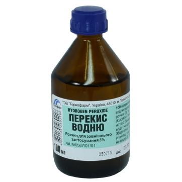 Перекись водорода р-р д/наруж. прим. 3 % фл. 100 мл инструкция и цены