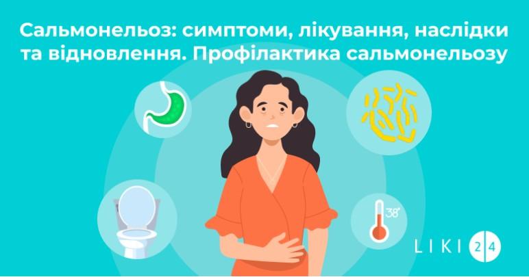 Сальмонельоз: симптоми, лікування, наслідки та відновлення. Профілактика сальмонельозу